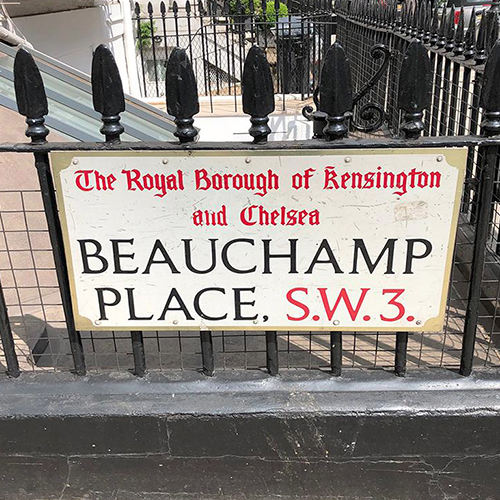 Beauchamp Place London